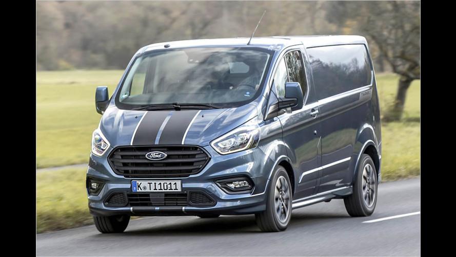 Ford liftet den Transit Custom