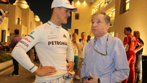 Michael Schumacher (GER) with Jean Todt (FRA) / XPB