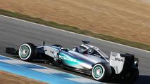 Nico Rosberg (GER), Mercedes AMG F1 W06, 01.02.2015, Formula One Testing, Day One, Jerez, Spain / XPB
