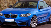 BMW M2 render illustrates potential styling
