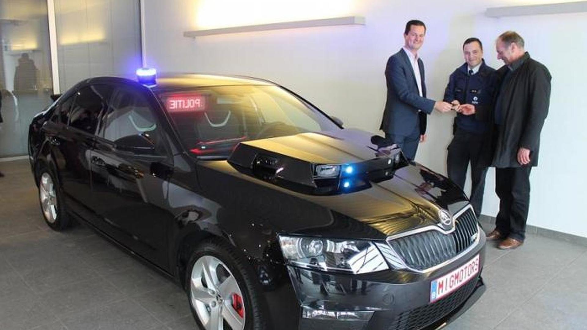 Полицейская Skoda Octavia vRS за €85 000