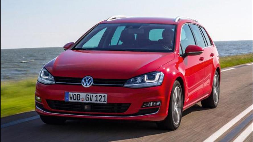 Nuova Volkswagen Golf Variant, addio brutto anatroccolo