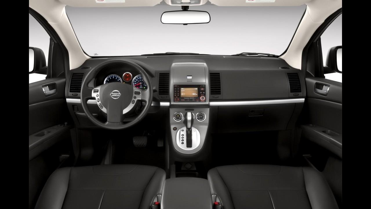 Nissan Sentra 2013 chega com novos opcionais e preços a partir de R$ 53.190