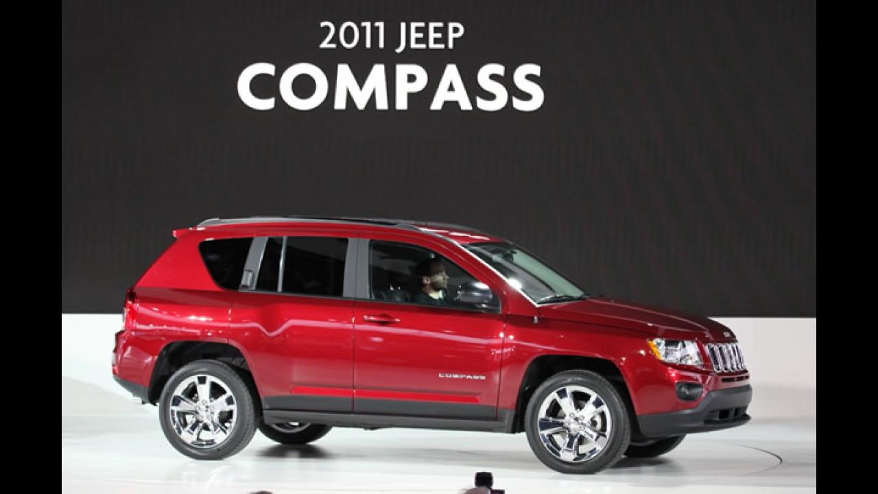 Jeep estuda comercialização do Compass no Brasil em 2012