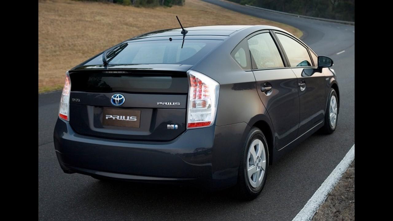 No mundo todo: Toyota faz recall de 1,9 milhão de Prius por falha no software