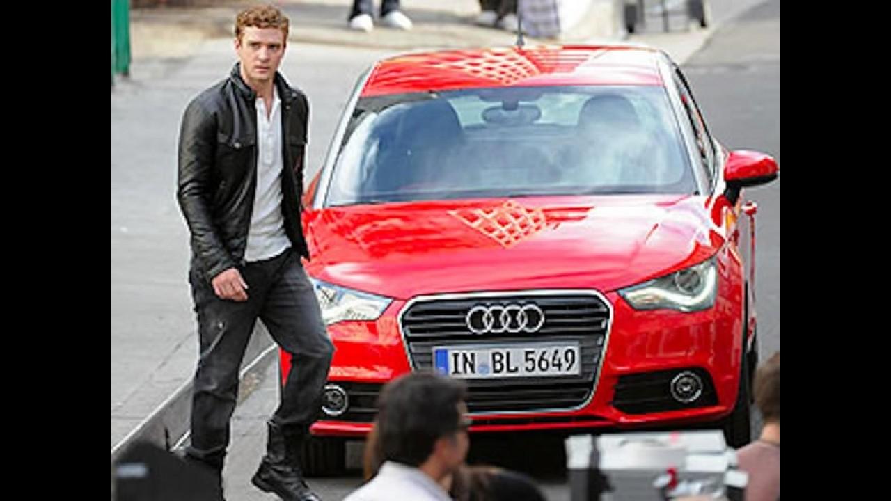 Novo Audi A1 2011 - Versão de produção é flagrada em gravação de comercial