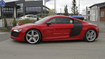 Audi R8 e-tron prototype testing spy photo