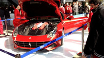 Ferrari F12 Berlinetta first live images in Maranello, 1000, 02.03.2012