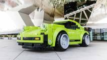 Life-Sized Porsche 911 Turbo Lego