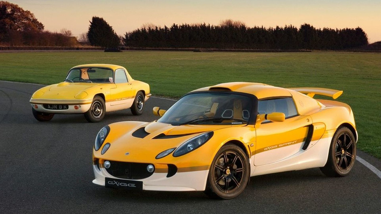 Lotus Exige Sprint; Yellow Fire