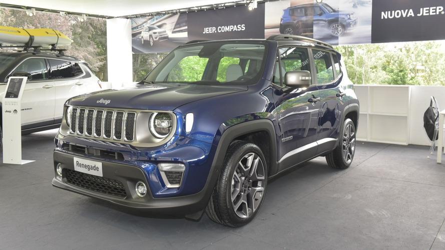 Jeep Renegade 2019 reestilizado aparece em primeiras fotos oficiais