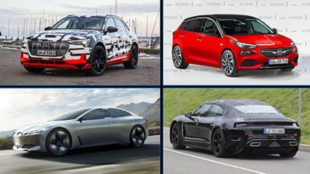 11 coches eléctricos que llegarán en 2018, 2019 y 2020