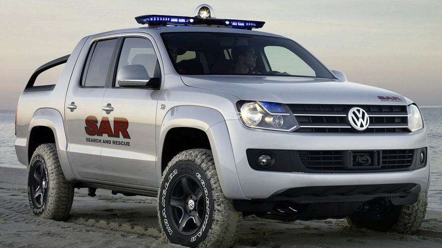 Volkswagen Amarok Name Announced for New Pickup Truck