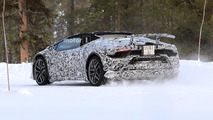 2018 Lamborghini Huracan Spyder Performante spy photo