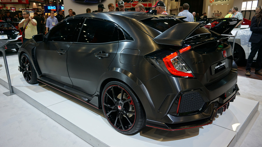 2017 Honda Civic Type R Prototipi