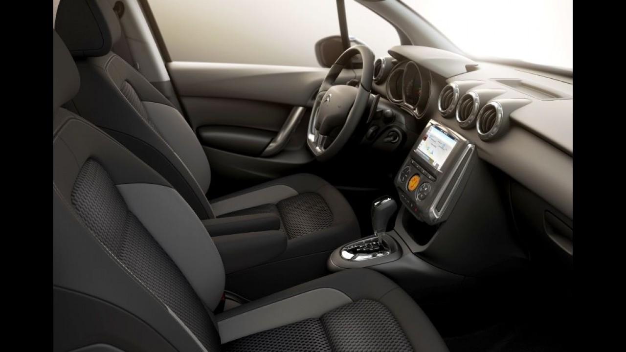 Citroën C3 2017 ganha central com tela de 7