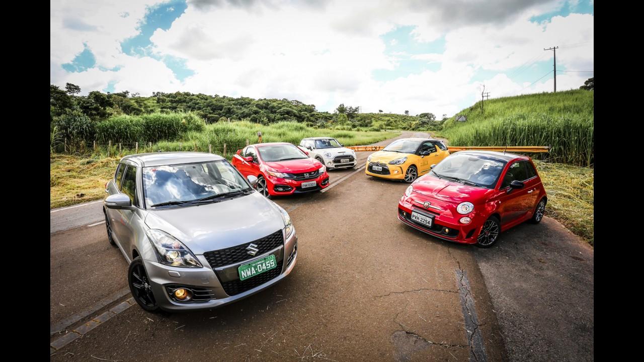 Efeito Sandero RS? Suzuki Swift Sport R fica R$ 5 mil mais barato