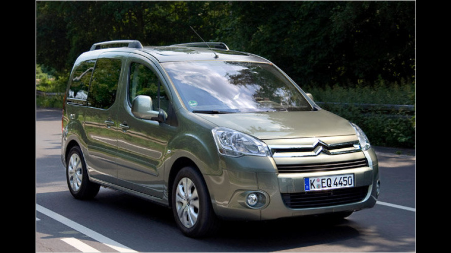 Silber-Transporteur: Citroën Berlingo Silver Selection