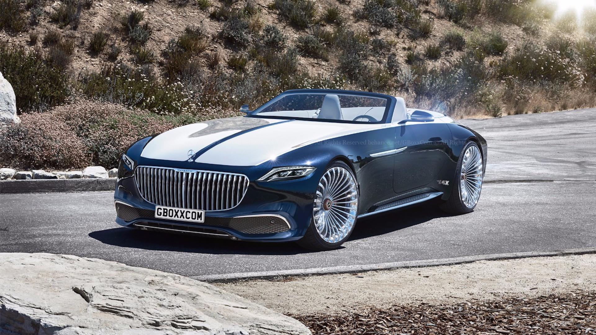 mercedes maybach 6 cabriolet looks stunning with production cues. Black Bedroom Furniture Sets. Home Design Ideas