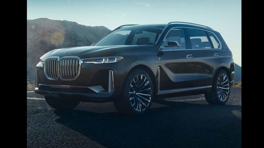 Yeni BMW X7 iPerformance konsepti Frankfurt öncesi sızdırıldı