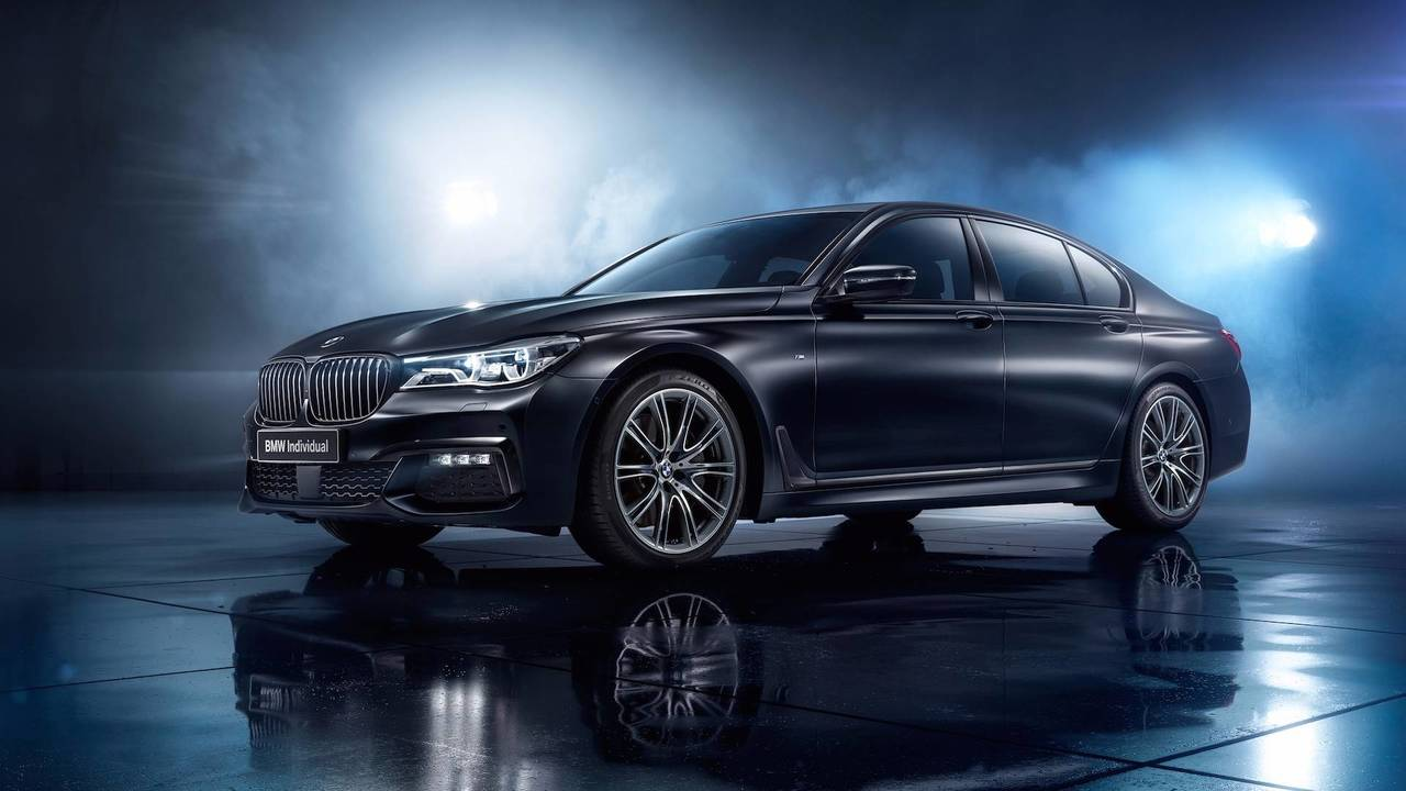 BMW 7 Series Individual Edition Black Ice