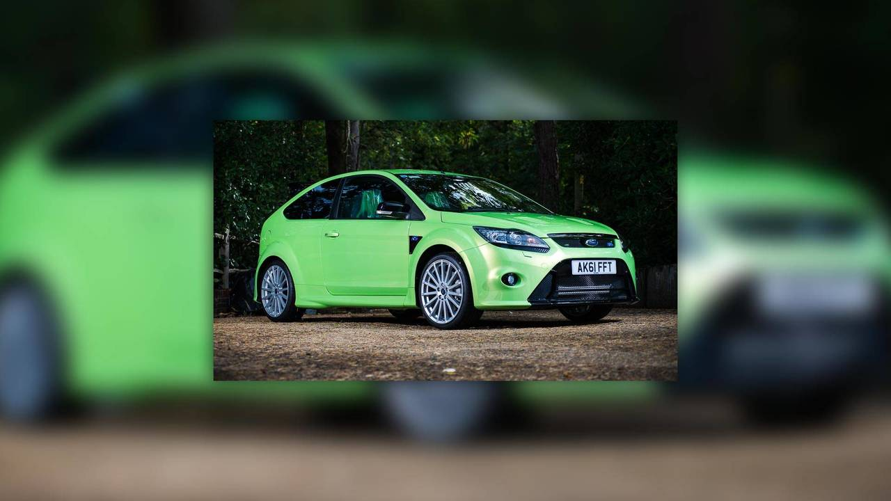 2011 Ford Focus RS Auction