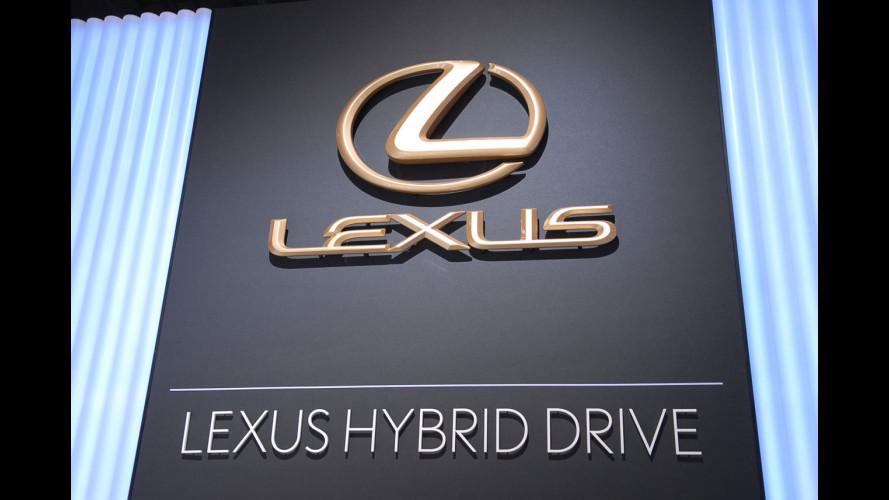 Nuova Lexus GS450h