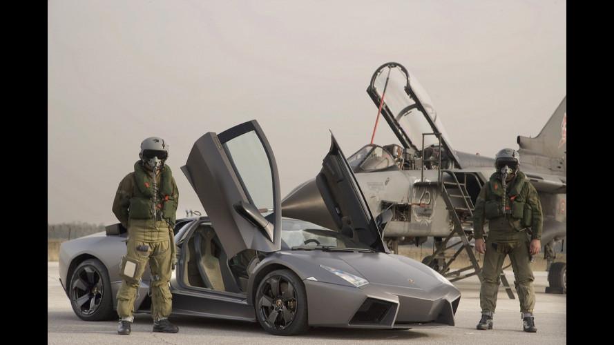 Lamborghini Reventon vs Panavia Tornado