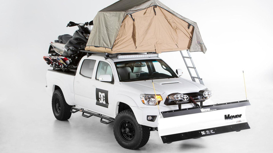 Toyota DC Shoes Tacoma & LifeTime Fitness RAV4 announced for SEMA