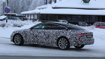 Audi A7 facelift spy photo