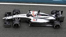 Kevin Magnussen McLaren MP4-29 31.01.2014 Formula One Testing Jerez Spain