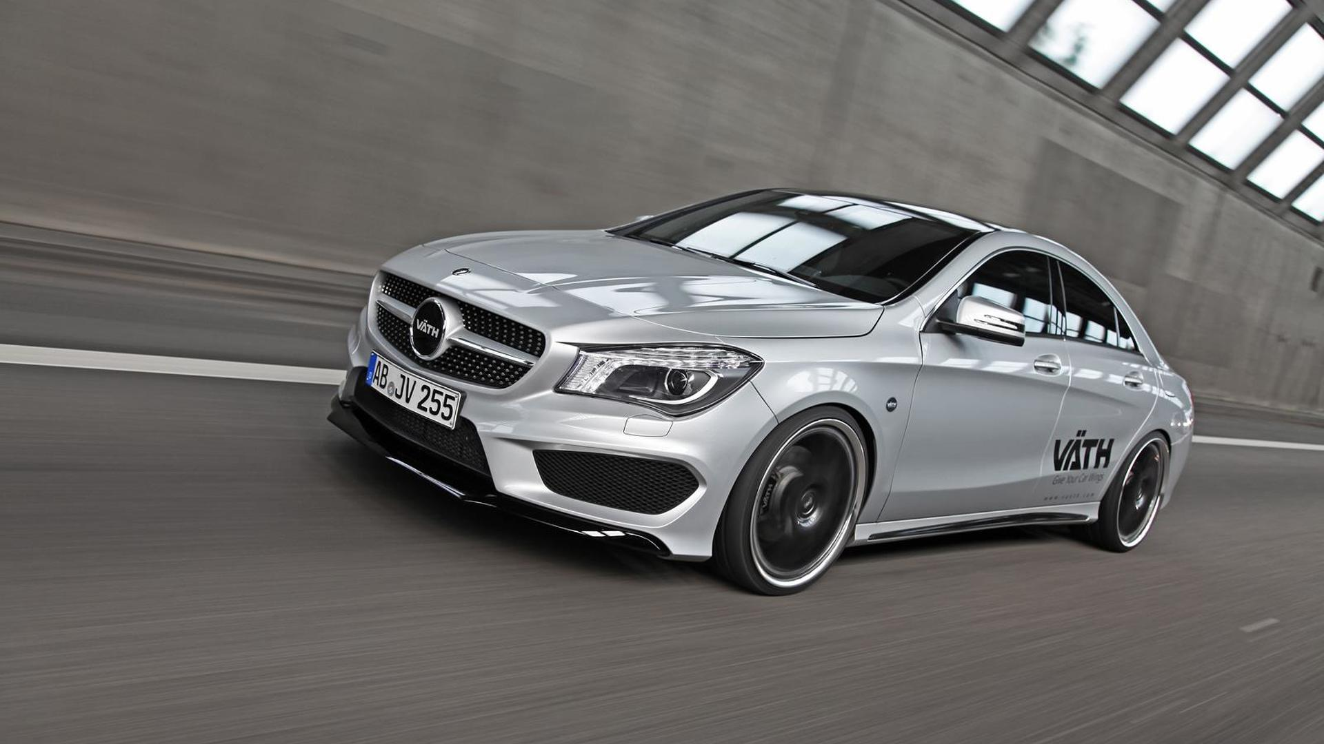 Mercedes benz cla 250 tuned by vath to 265 hp for Mercedes benz official site usa