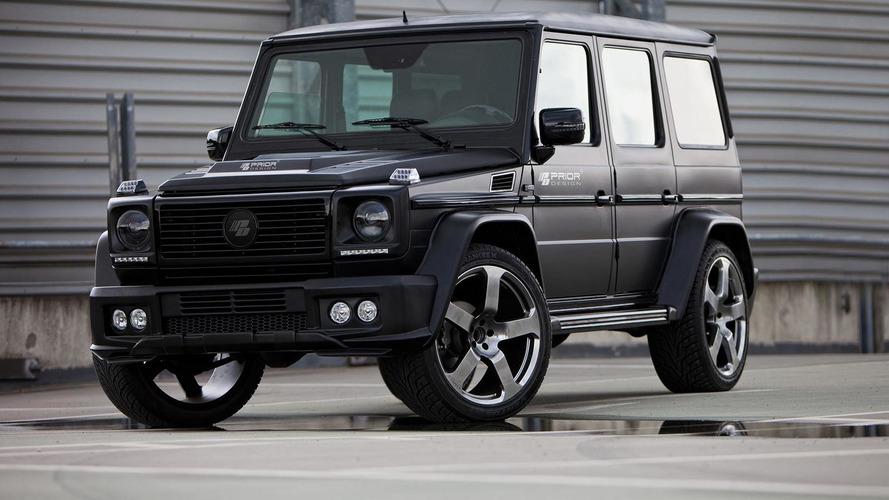 Mercedes-Benz G-Class receives aero kit from Prior Design