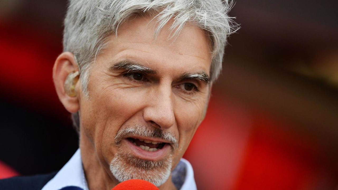 Damon Hill Sky Sports Presenter 08.06.2013 Canadian Grand Prix