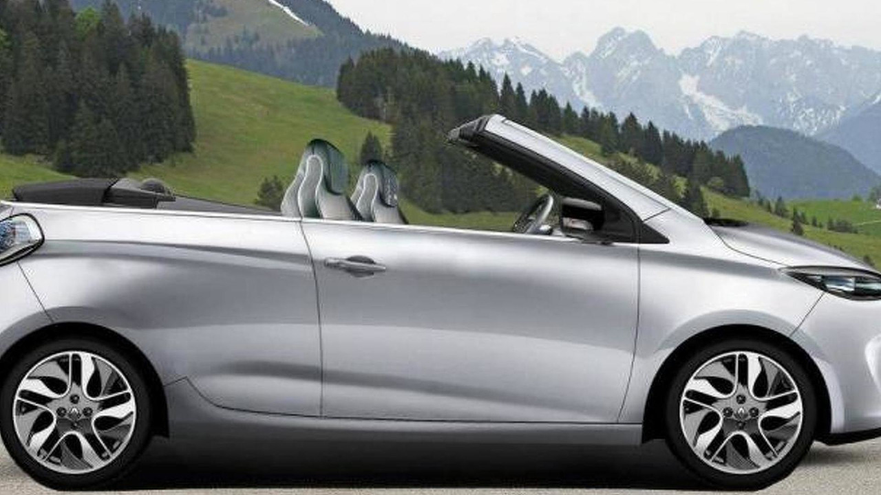 Renault Zoe Convertible (concept made by fan) 23.05.2013