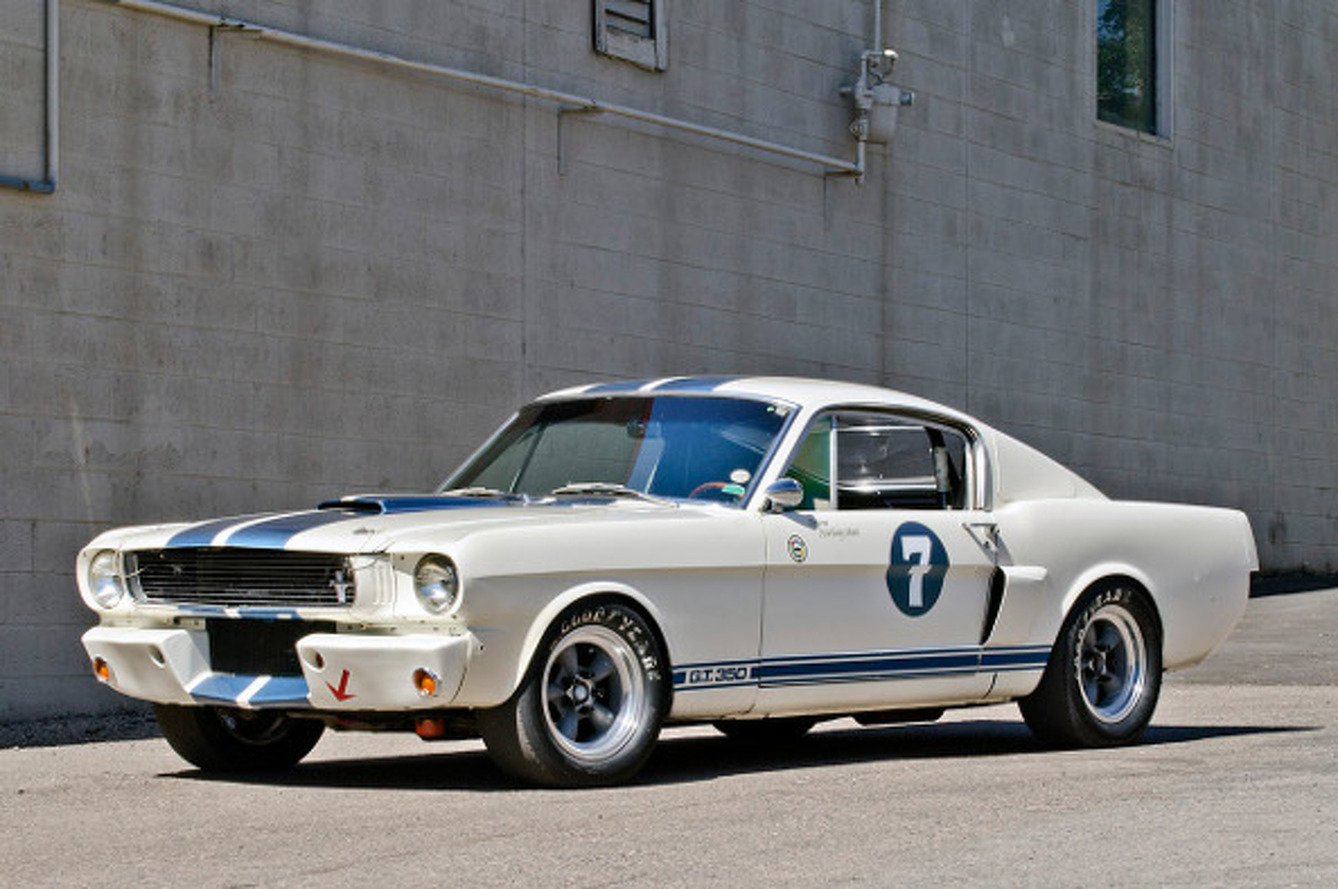 Shelby GT350 Raced by Stirling Moss Set for Auction