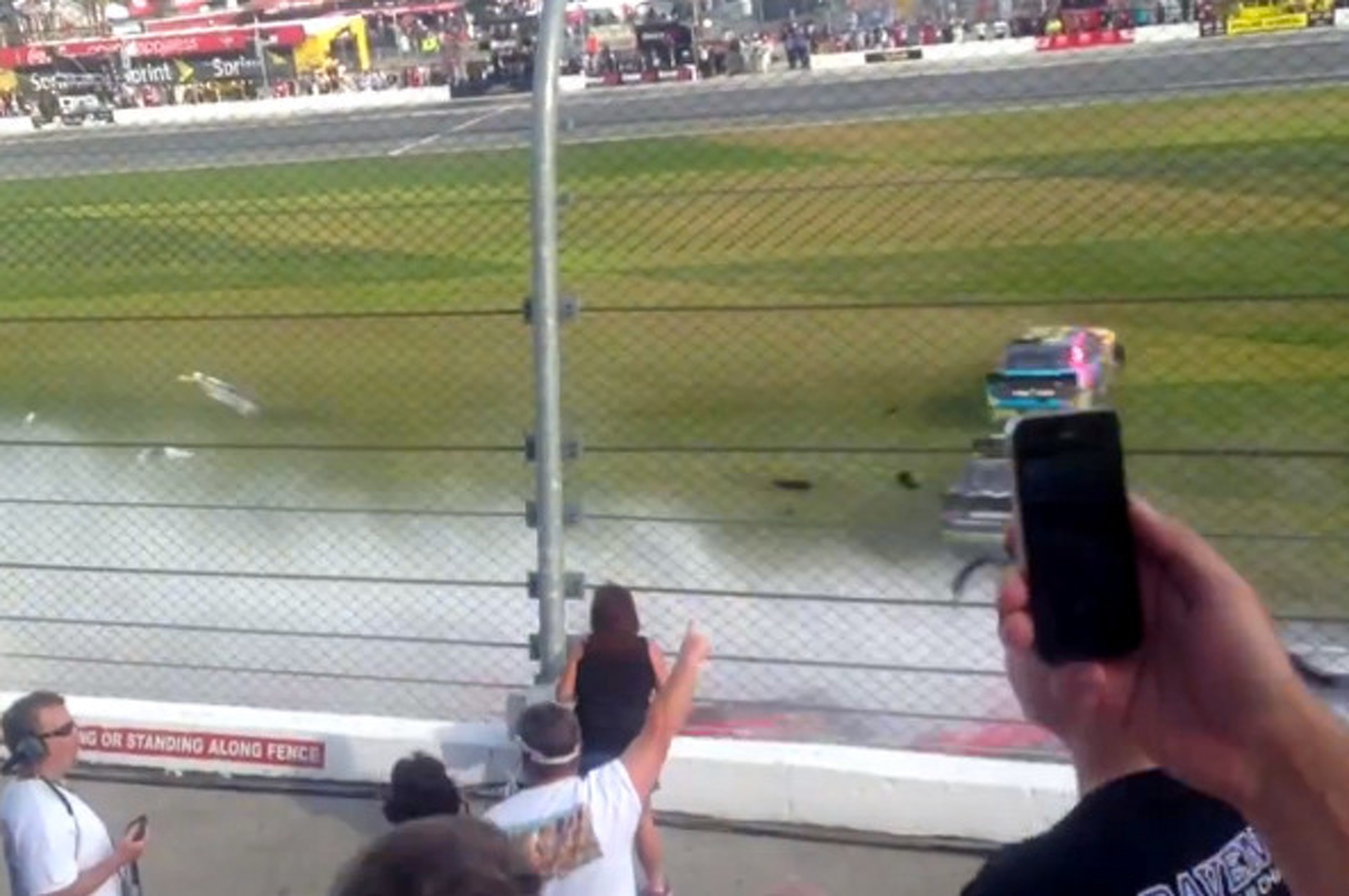 28 Injured in NASCAR Crash