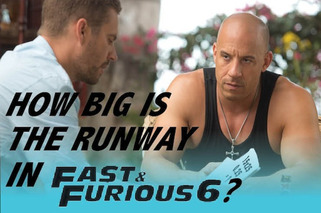 How Insanely Long is the Runway in Fast 6?