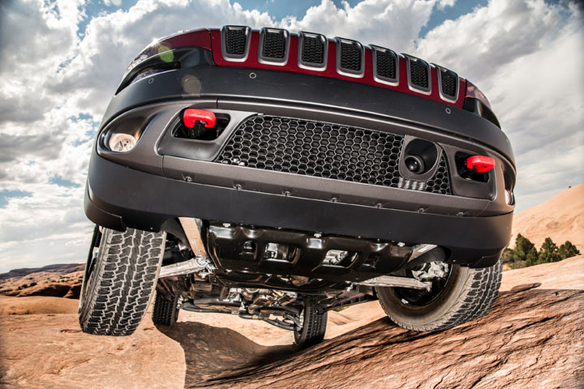 Jeep Cherokee Trailhawk at Home On and Off-Road: Trail Tested
