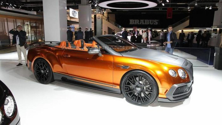 1,001 PS Bentley Continental GT Speed Convertible by Mansory is pure opulence at 2015 IAA