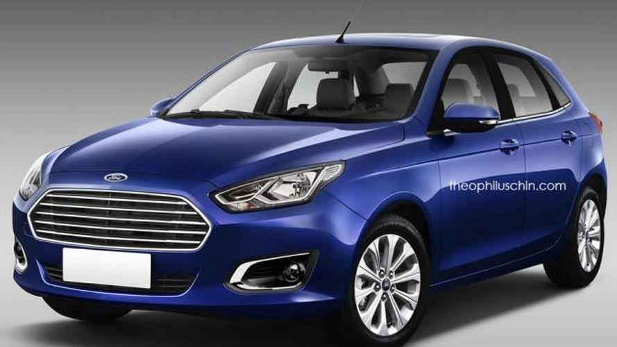 Ford Escort hatchback imagined as a successor for a legend