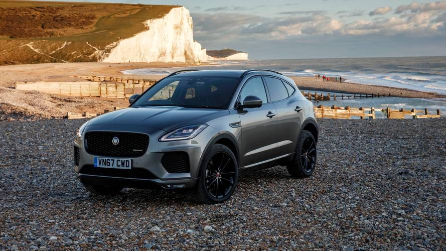 2018 jaguar e pace first drive no macan beater. Black Bedroom Furniture Sets. Home Design Ideas