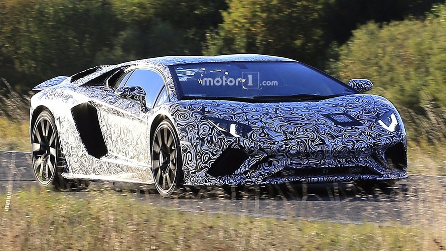 2018 Lamborghini Aventador facelift spied with Superveloce bits