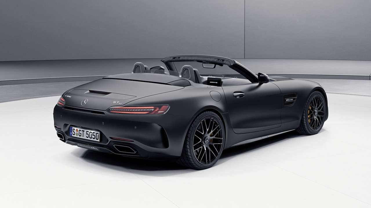 mercedes amg gt c roadster edition 50 c63 c63 s. Black Bedroom Furniture Sets. Home Design Ideas