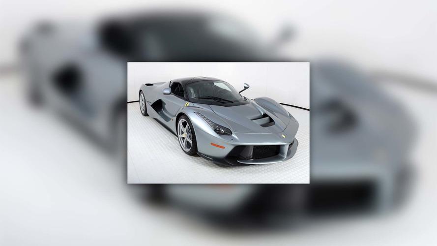 Titanium Silver Ferrari LaFerrari Looks Like Precious Metal for $4M