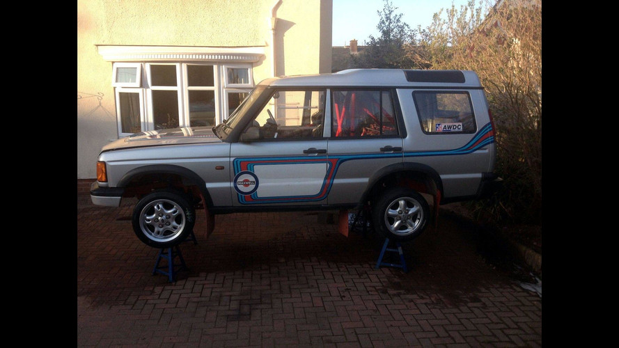 Land Rover Disco Rally Car With M3 Power Is Not Expensive