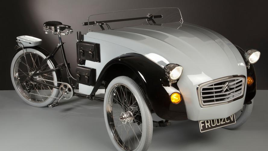 Aquí está el primer Citroën 2 CV para ciclistas