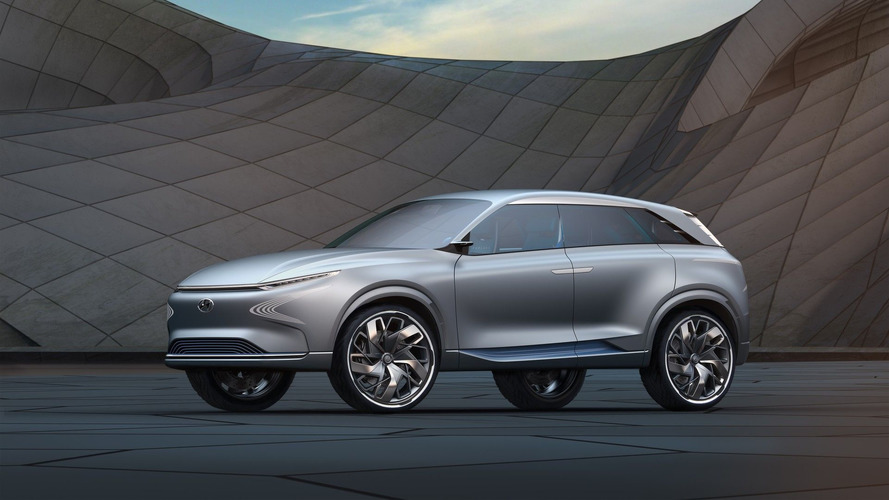 Hyundai's New Hydrogen SUV Could Have A Range Of 500 Miles