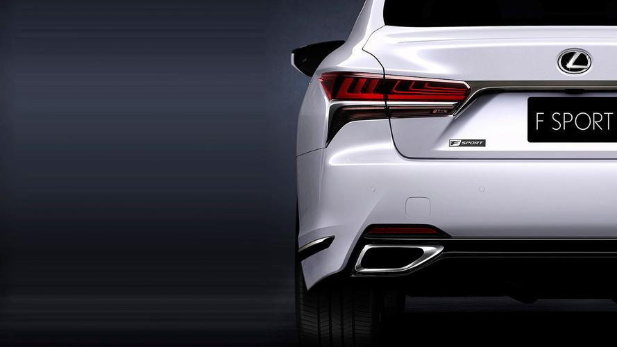 2018 Lexus LS 500 F Sport teaser image