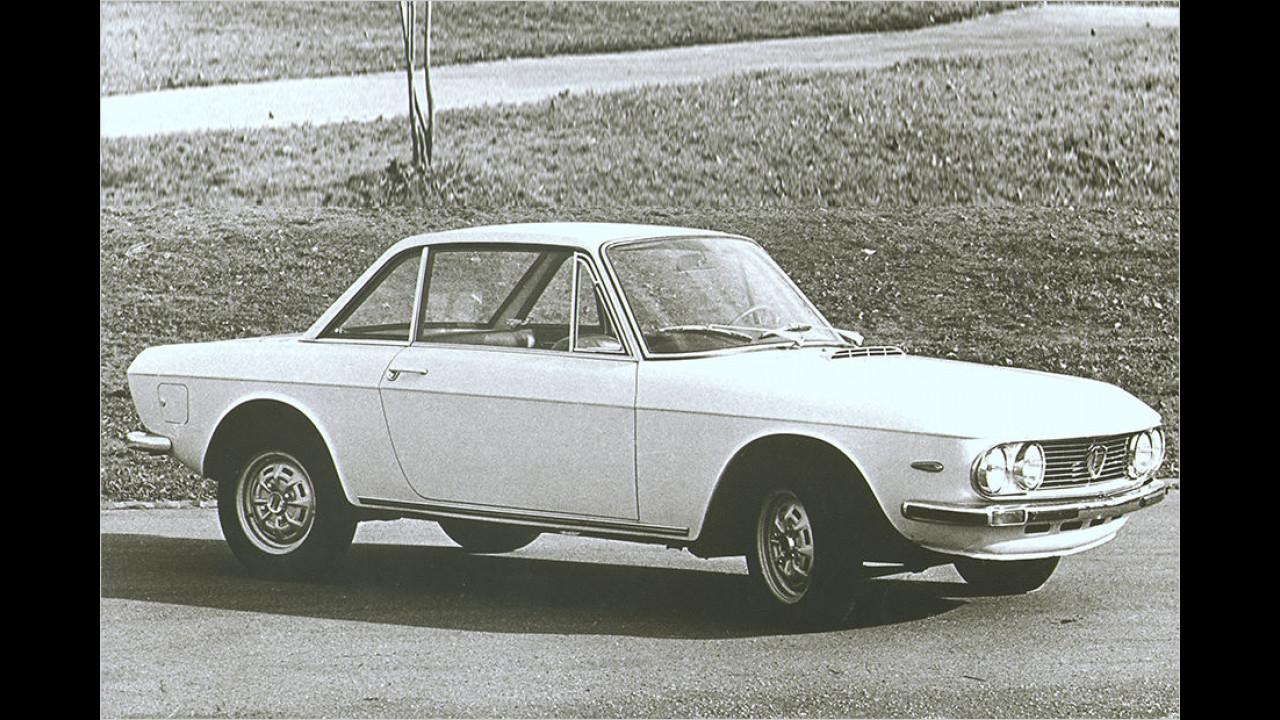 Platz neun im Vergleich zu 2015: Lancia Fulvia 1,3 S